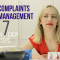 7 Steps on how to handle complaints!
